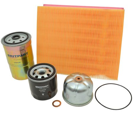Td5 Service Kit with short oil filter