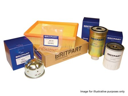 Range Rover P38 2.5 DT from engine no. 33988348 from (Dec 1995) to VIN TA346793 type B oil filter Service Kit