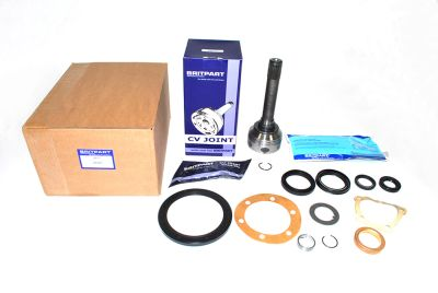 Defender - 10 Splines  Axle Shaft to Diff End - Non-ABS with 23 Internal Splines - CV Joint Kit