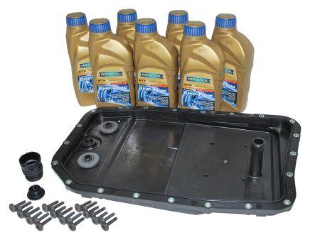 Automatic transmission fluid change kit - Britpart Pan with Ravenol Oil