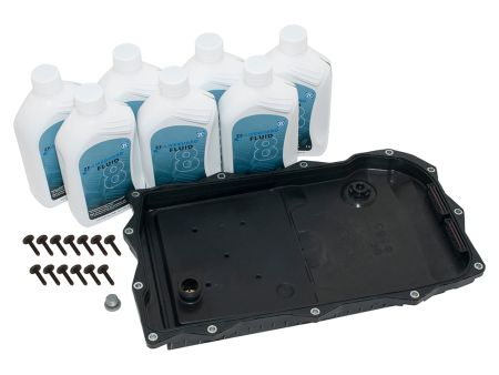 Automatic transmission fluid change kit - Britpart Pan with