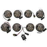 Full Set Of Replacement Lights - Smoked - LED