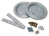 Rear Spring Seat Fitting Kit - Galvanised - Defender 110 & 130