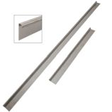 Door Rubber Seal Holders - Stainless - Series (LWB) & Defender 110