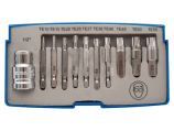 Laser Torx Fixing Extractor Set - 11 Piece