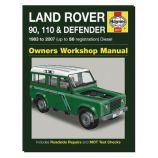 Land Rover 90, 110 & Defender - 1983 - 2007 (up to 56 Reg) - Diesel - Owners Workshop Manual