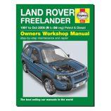 Freelander - 1997-Oct 2006 (R to 56 reg) - Owners Workshop Manual