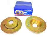 Front Brake Discs - Vented - Britpart Performance