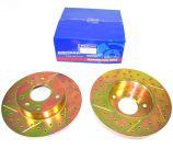 Front Brake Discs - Solid - Britpart Performance