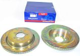 Rear Brake Discs - Vented - Britpart Performance