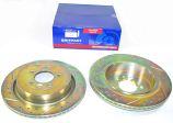 Rear Brake Discs - Vented - Britpart Performance