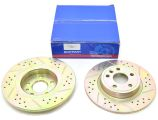 Rear Brake Discs - Solid - Britpart Performance