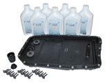 Automatic transmission fluid change kit - ZF Oil Pan with ZF Oil