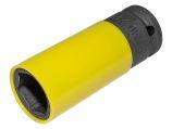 "Alloy Wheel Nut Socket - 22mm x 1/2"" D"
