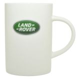 Land Rover Logo Mug - White China