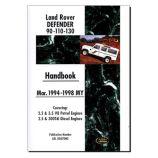 Defender 90, 110 & 130 (Mar 1994-1998 MY) - Handbook